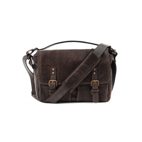 ONA SAC PRINCE STREET LEATHER DARK TRUFFLE