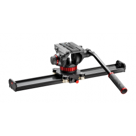 MANFROTTO VIDEO SLIDER MVS060A + MVH502AH