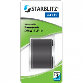 STARBLITZ VIDEO BATTERIE PANASONIC SB-BLF19