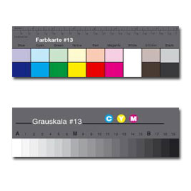 CHARTE SMALL GREYSCALE ET COULEUR