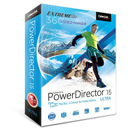 CYBERLINK POWER DIRECTOR 15 ULTRA