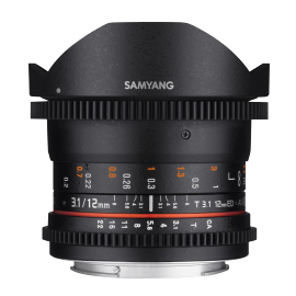 SAMYANG VIDEO 12MM T 2.2 VDSLR APS-C