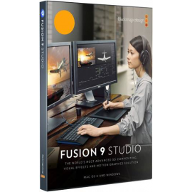 BLACKMAGIC D. FUSION 9 STUDIO