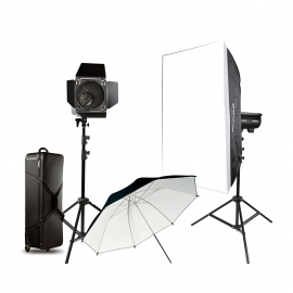 GODOX KIT FLASH DP600III (2torches) 600w