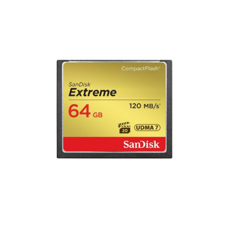 SANDISK COMPACT FLASH EXTREME 64GB 120MB