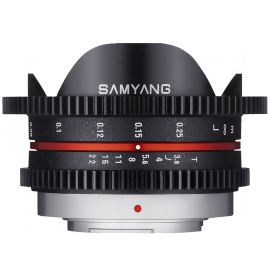 SAMYANG VIDEO M4/3 7.5MM T3.8 VDSLR