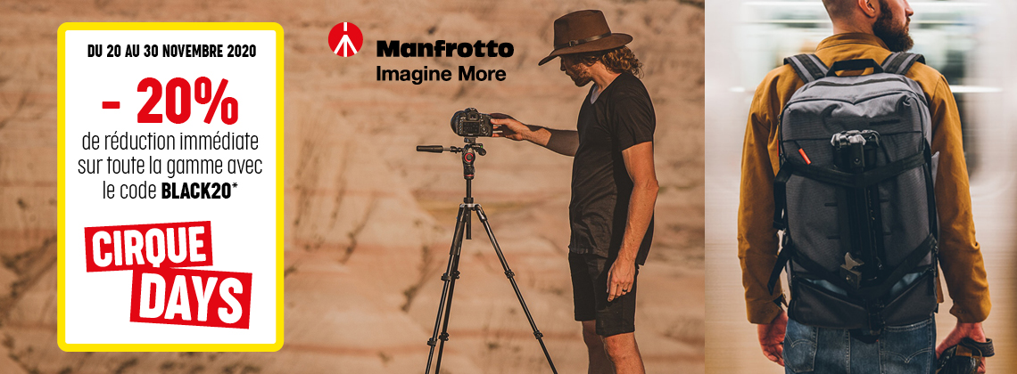CIRQUE DAYS - MANFROTTO